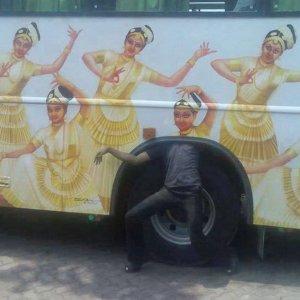 Autobus in India