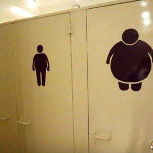 Bagno per persone grasse