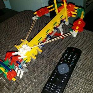 Balestra fatta con i Lego