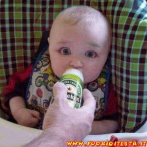 Bambino ubriaco