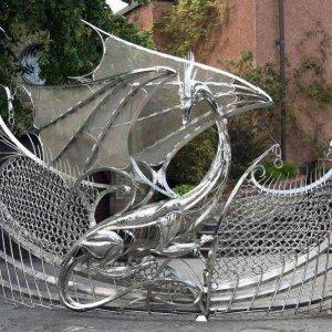 Cancello decisamente originale
