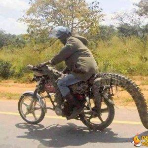 Carina la nuova moto