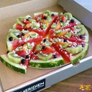 Che buona questa pizza!