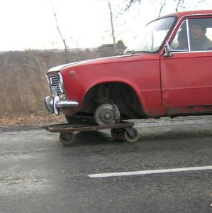 Chi ha bisogno delle ruote?