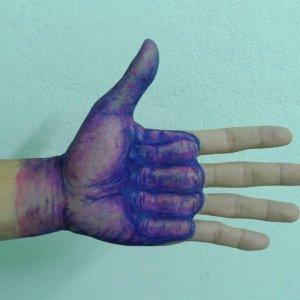 Disegno sulla mano