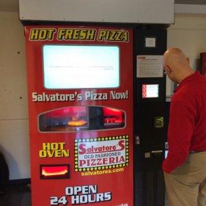 Distributore automatico di pizze