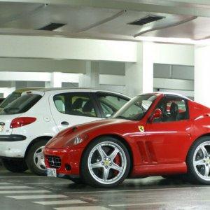 Ecco la mini Ferrari