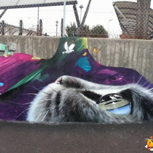Fantastica arte di strada