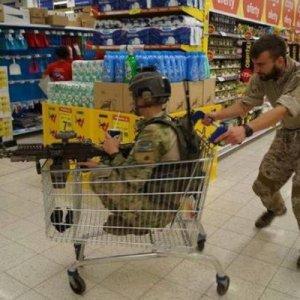 Fare la spesa è una guerra