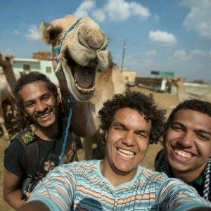 Fare un selfie in Egitto