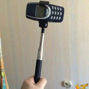 Finalmente posso fare i selfie