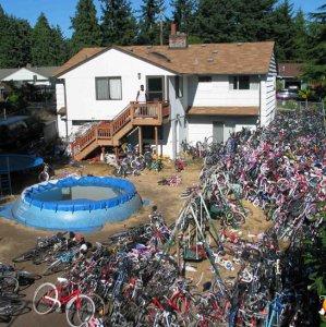 Hai una bici da prestare?