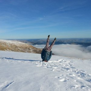 Idiota sulla neve