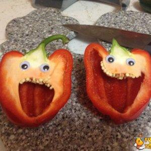 Il terrore di un peperone