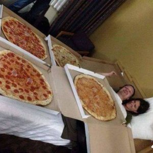 La coperta di pizze