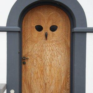 La porta gufo