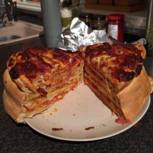 La torta di pizza