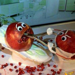 Melograno dal dentista