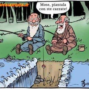 Mosè pesca
