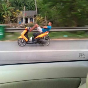 Motociclisti in Vietnam