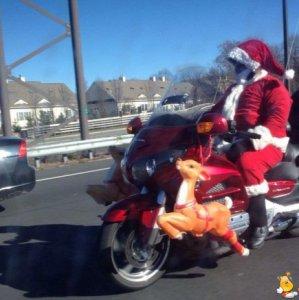Nuovi mezzi per Babbo Natale