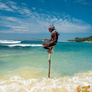 Pescatore equilibrista