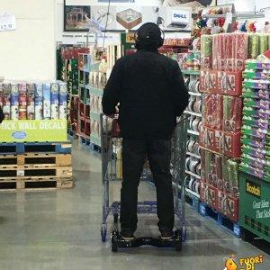 Pigrizia al supermercato