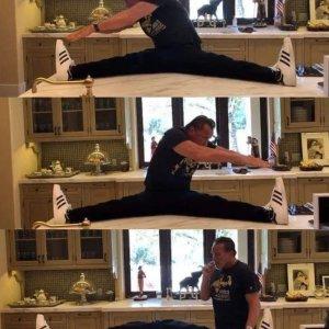 Ricorda di fare stretching