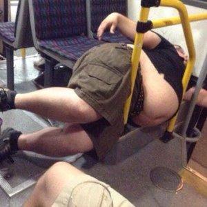 Rilassarsi in metropolitana