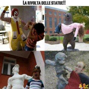 Rivolta delle statue