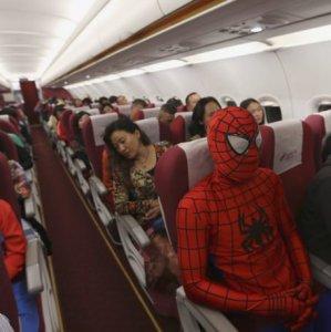 Tranquilli, Spiderman è a bordo