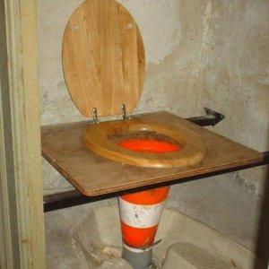 Trasformare una toilette