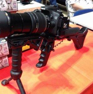 Un fucile per reflex