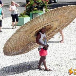 Un grande sombrero