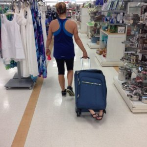 Un insolito bagaglio