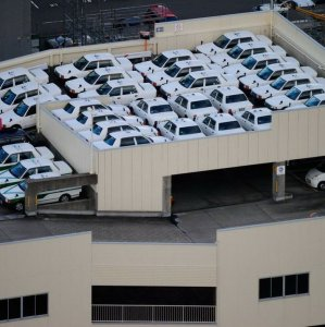 Un parcheggio ben organizzato