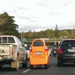 Una city car improbabile