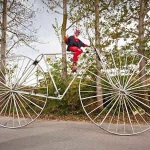 Una piccola bicicletta