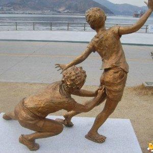 Una statua interessante