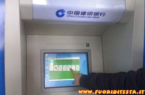 Bancomat cinese