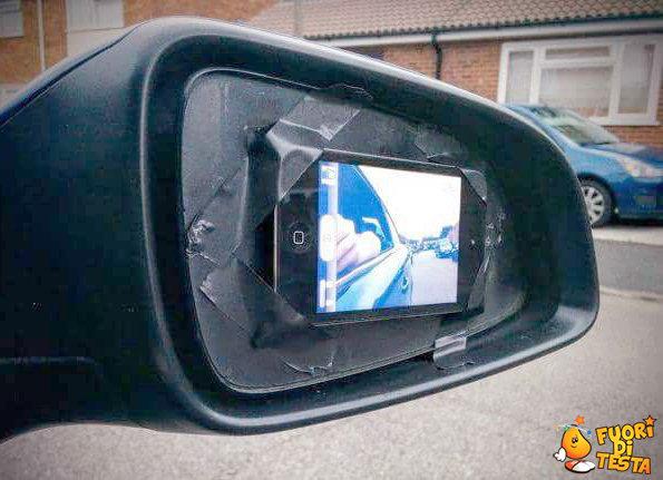 Come ho riparato lo specchietto