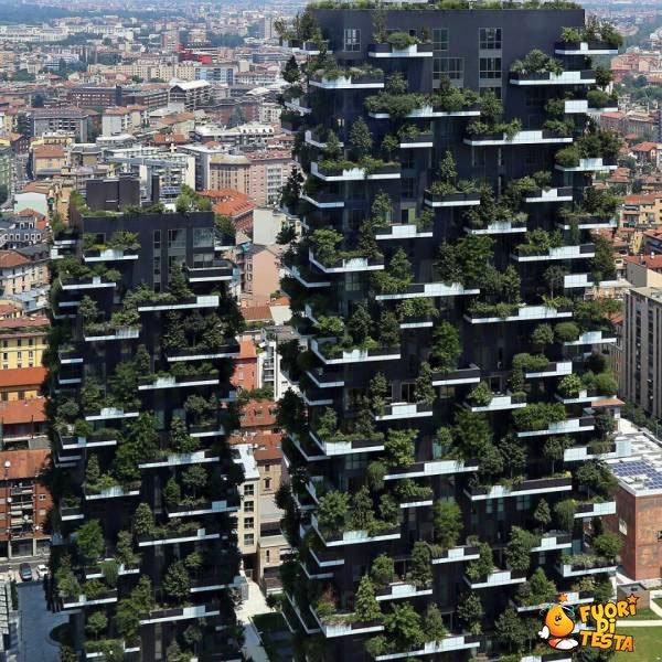 Grattacieli verdi
