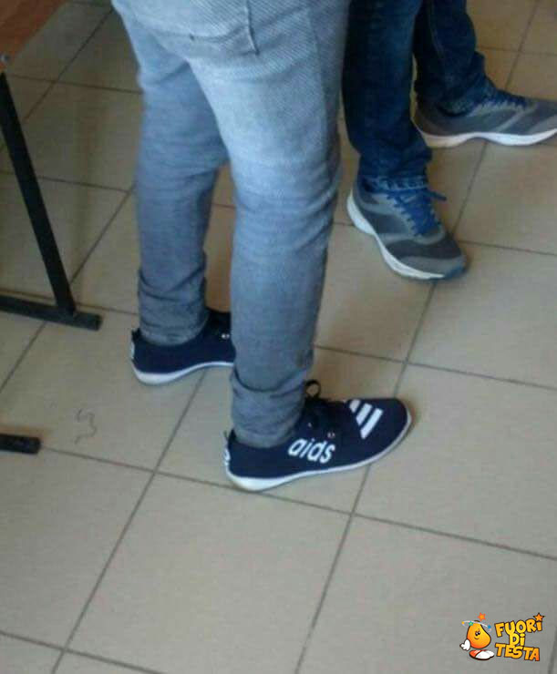 Il problema delle scarpe cinesi