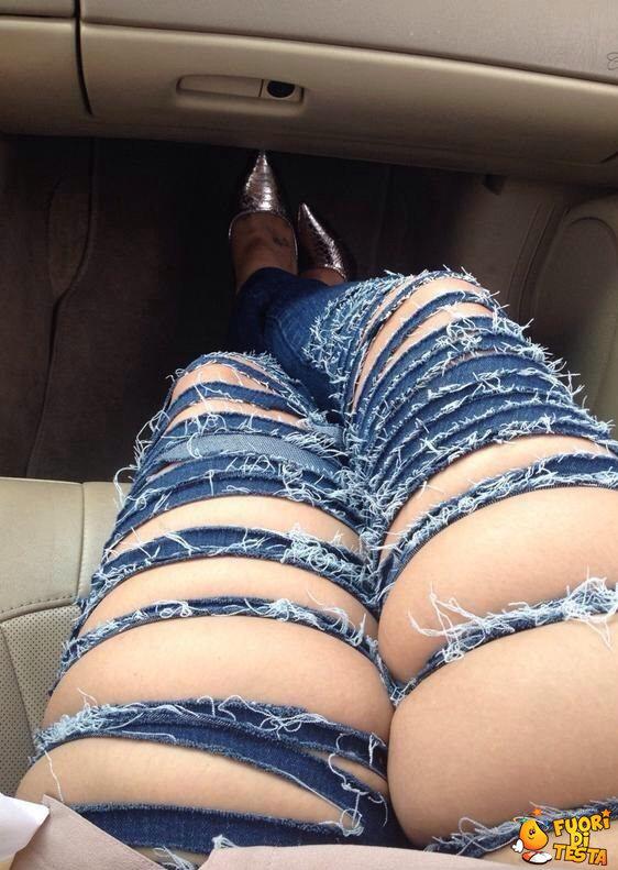 Jeans davvero strani