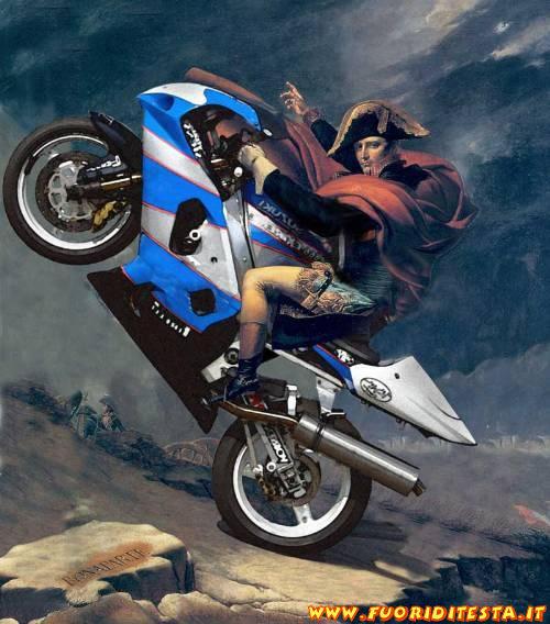 Napoleone in moto