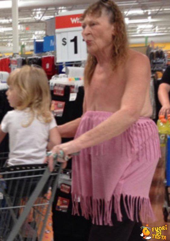 Nel frattempo al supermercato...