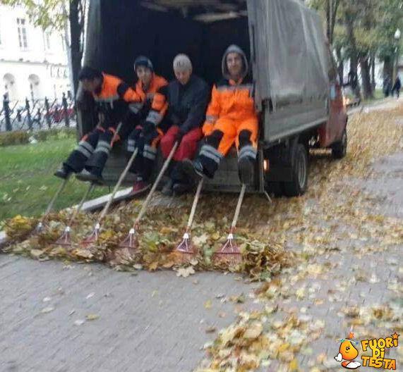 Pulizia delle strade