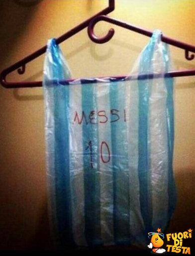 Regalo maglietta di Messi