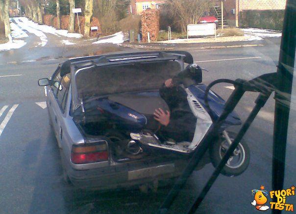 Trasporto scooter in Russia