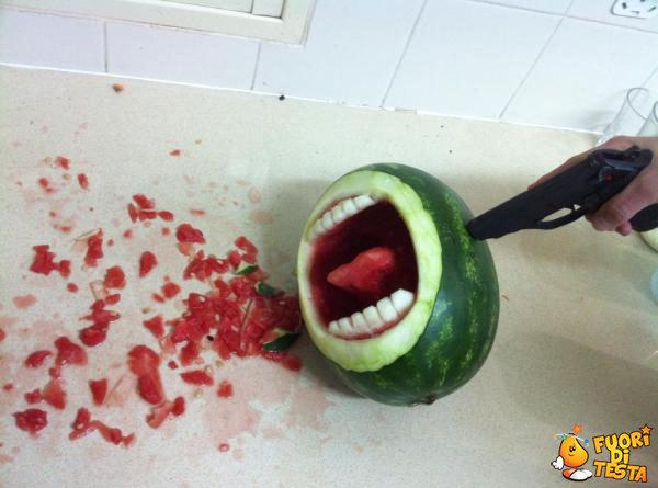 Uccisione di un'anguria